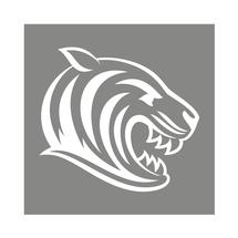 Car Sticker Tiger Head
