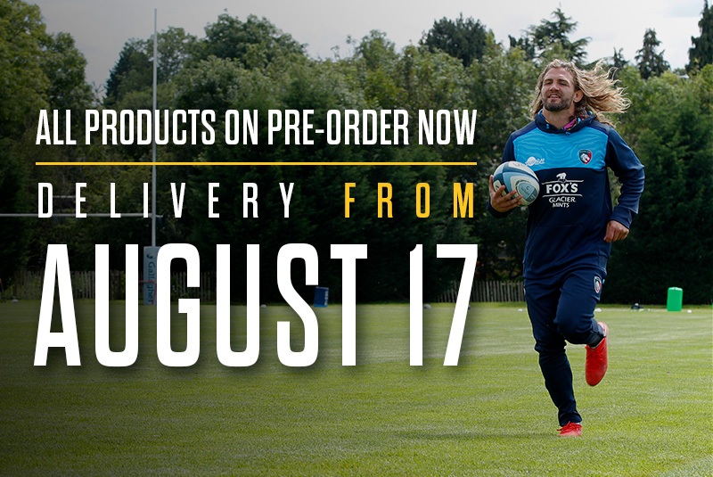 All products on pre-order now, delivery from August 17